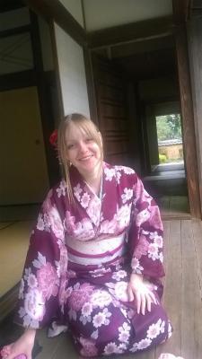 kimono, 着物, Kitsuki, 杵築市, Beppu, 別府市, Oita, 大分県, rent a kimono, Kimono-Verleih, Warakuan