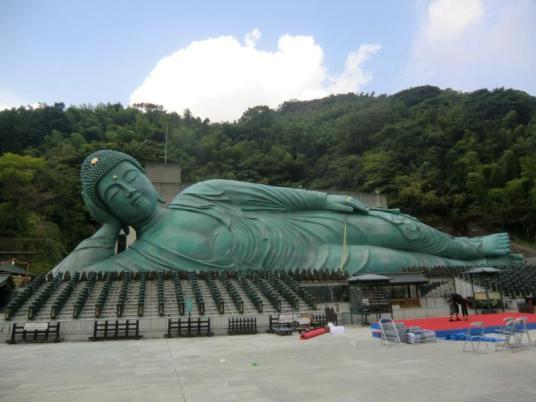 Nanzo-in, 南蔵院, Reclining Buddha, Nehanzo, Sasaguri, 篠栗町, Fukuoka, 福岡県, statue, Japan, 日本, temple